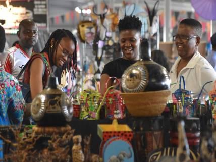 Rosebank Sunday Market, Johannesburg
